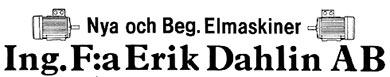 Erik Dahlin AB
